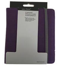 "Kindle and Kindle Touch 6"" Canvas Folio Case - 100% Cotton - Tesco Finest Range"