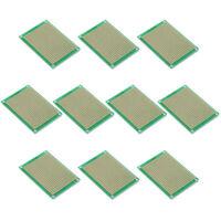 10x Lochrasterplatine Platinen Leiterplatten Streifenraster 5x7cm GY