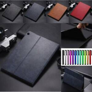 """For Huawei MediaPad M3 BTV-W09 M5 M6 8.4"""" 10.8"""" Smart Leather Stand Case Cover"""