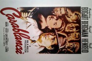 Casablanca (1942) | US Import Filmplakat Poster 68x98