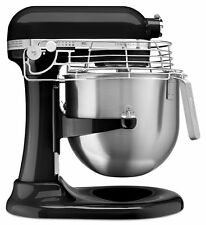 KitchenAid Commercial 8 Quart Bowl-Lift Stand Mixer with Bowl Guard - Onyx Black