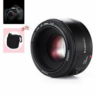 YONGNUO YN EF 50mm F/1.8 Auto & manual Focus Lens For Canon EF Mount EOS Camera