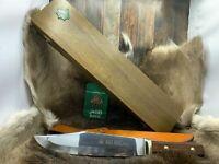 Puma 12 6356 Big Bowie Knife With Jacaranda Handles Sheath Presentation Mint Tag