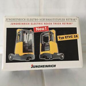 Jungheinrich ETVC 16 Cabin Reach forklift fork lift truck  Boxed