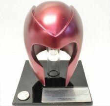 "Marvel X-Men Magneto Mini Helmet New w Stand 4"" tall made by X-Menclub.com 2000"