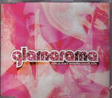 Glamarama-Girls Just Wanna Have Fun cd maxi single