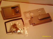 Caraloc 700  ,Left Hand, Caravan Door Handle and Lock Assembly Complete .New