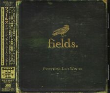 Fields - Everything Last Winter - Japan CD+3BONUS+VIDEO - NEW - 13Tracks