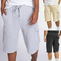 DEF shorts pour hommes en look cargo Pantalon RoMp  jogging Baggy Bermuda Casual