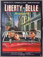 Affiche LIBERTY BELLE Pascal Kané JEROME ZUCCA Dominique Laffin 40x60cm *