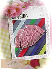 Vintage Knitting Pattern Baby's Beautifully Stitched Matinee Coat  ONLY 99p!!!!