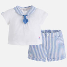 Mayoral Striped Outfits & Sets (0-24 Months) for Boys