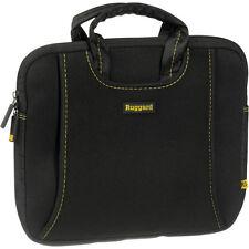 Ruggard 10 Ultra Thin Netbook Sleeve With Handles (Black/Yellow)