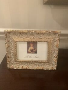 BRAND NEW ORNATE WOOD PICTURE FRAME (4 X 6)