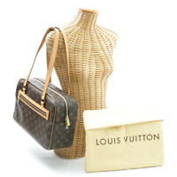 Louis Vuitton  Cite GM Monogram Tote Bag  M51181 Shoulder Bag Brown Leather