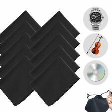 10Pcs/Pack Microfiber Cleaning Cloth For Camera Lens Glasses TV Phone LCD Screen