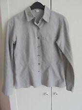 Hessnatur Bio Baumwolle Bluse NP: 100€ w NEU TOP Designer Kleid Top Gr. 38 M