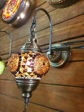 Tiffany Style  stained glass Wall Lamp Art Glass Wall Scones Fixtures mosaic