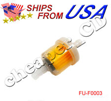 "1/4"" Inline Fuel Filter for 50cc 90cc 110cc 125cc Gas Motorized Bicycle Engine"