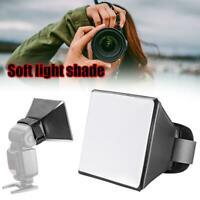 Mini Photography Softbox Flash Diffuser Box Kit For Canon DSLR Speedlite Useful
