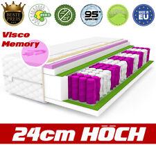 Matratze VISCO GOLD MEMORY 80x200 9 zonen 24 cm Taschenfederkern