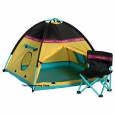 """Pleasant Company Rare American Girl CAMPING TENT & CHAIR for 18"""" Dolls New - Box"""