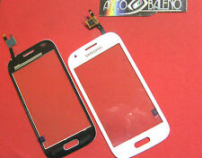 VETRO+TOUCH SCREEN per SAMSUNG GALAXY ACE STYLE SM-G310HN LCD DISPLAY BIANCO