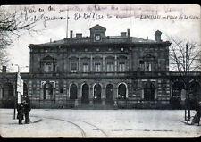 LANDAU (ALLEMAGNE) GARE animée en 1925