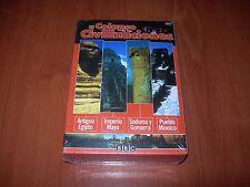 EL COLAPSO DE LAS CIVILIZACIONES - PACK 4 DVD ZONA 2 NUEVO