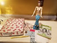 1940's Simplicity FASHIONDOL Fashion Doll & Mannequin Sewing Set in Orig Box
