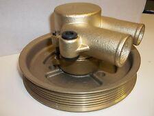 NEW crank mounted Raw Water Sea Pump VOLVO PENTA 21212799, 3812519 pulley GXI GL