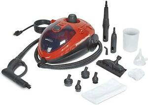 Multi-Purpose Automotive Steam Cleaner Cleaning Car Upholstery Leather 55Psi Red