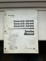 Genie GS-2046/2646/3246 Service Manual
