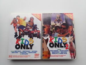 Kids Only 1 & 2 Ten Movie Pack DVD Set (20 Movies Total) Rare