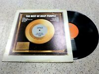 VINYL ALBUM RECORD,THE BEST OF DEEP PURPLE,HUSH,HEY JOE,HELP,MANDRAKE ROOT,1972