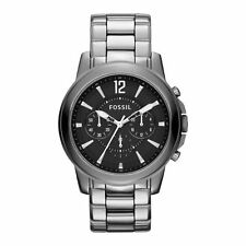 Fossil Men's Grant Ceramic Watch – Chrome #CE5016