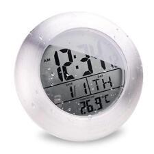 Waterproof Temperature Display Sucker Electronic Digital Bathroom Shower Clock
