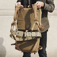 WW2 US ARMY USMC M1941 BACKPACK 782 SET Combination W Belt As Pic HIGE QUALITY