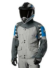 BMW Rallye 3 Motorcycle Jacket Waterproof Blue Grey Euro 54 Large