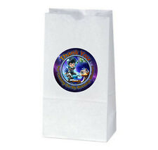 12 MILES FROM TOMORROWLAND Birthday Party TREAT BAGS with STICKERS (2.5 inches)