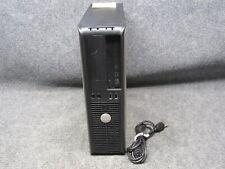 Dell Optiplex 760 PC Desktop Intel Core 2 Duo E8400 3.00GHz 4GB RAM 250GB HDD