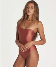 Billabong Love Bound One Piece Swimsuit Sienna Size S Small Asymmetrical