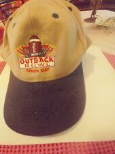 Joe Paterno & Hal Mumme Signed 1999 Outback Bowl Penn State Kentucky look