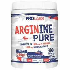 Prolabs - Arginine Pure 300 cpr  Arginina Stimola Ossido Nitrico Vigore Sessuale