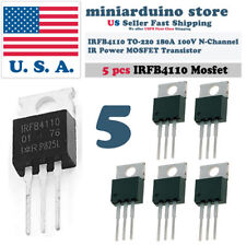 5PCS IRFB4110 IRF4110 Power MOSFET Transistor TO-220 100V 180A IRFP4110PbF