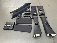 BMW E53 X5 Sport Headlining Black Roof Interior Package - Pillars Visors Lights