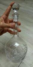 Belle carafe en cristal de Saint St-Louis Signée Modèle ?