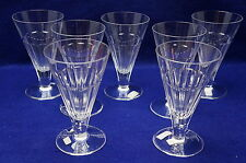 """William Yeoward Eve (7) Water Goblets, 6"""" tall, NWT"""