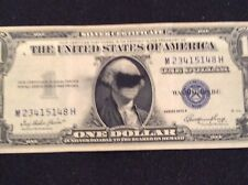 """FR#1614-E One Of A Kind Error Note.""""Blind Folded George"""".1935 Silver Certifacate"""