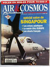 AIR & COSMOS du 7/03/1994; Spécial Salon de Singapour/ MiG-29/ Convertible V-22